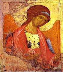 Archangel Michael, Russian Icon, Attribution: http://www.flickr.com/photos/8545333@N07/2205778453/sizes/s/in/photostream/