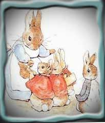Floppsy, Moppsy, and Cottontail, Attribution: https://www.google.com/search?rlz=1C1CHFX_enUS375US375&sourceid=chrome&ie=UTF-8&q=images+of+peter+rabbit