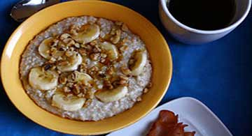 Hearty Oatmeal, Attribution: http://www.flickr.com/photos/galant/3294687099/