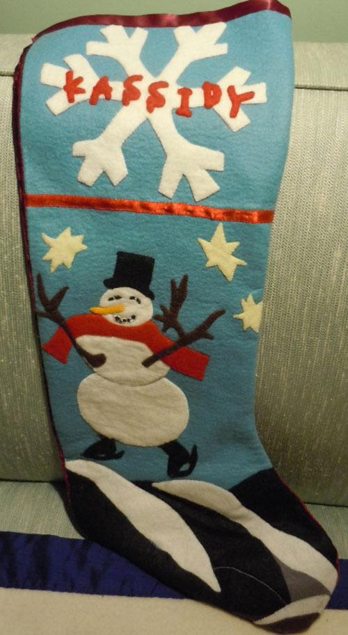 Soul nourishment - Christmas stocking