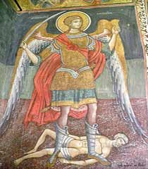 Archangel Michael, Attribution: http://www.flickr.com/photos/cod_gabriel/5263759647/sizes/s/in/photostream/