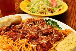Spaghetti Dinner, Attribution: http://www.flickr.com/photos/jeffreyww/5822501094/sizes/m/in/photostream/