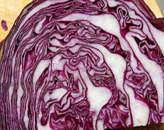 Red Cabbage, Attribution: http://www.flickr.com/photos/benhosking/4813844880/