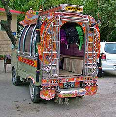 Decorated Vehicle, Attribution: http://www.flickr.com/photos/o_0/9879458/sizes/s/in/photostream/