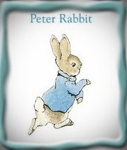Peter Rabbit, Attribution: https://www.google.com/search?rlz=1C1CHFX_enUS375US375&sourceid=chrome&ie=UTF-8&q=images+of+peter+rabbit