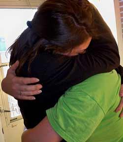Hug, attribution: http://www.flickr.com/photos/bonnie-brown/4410822537/sizes/m/in/photostream/
