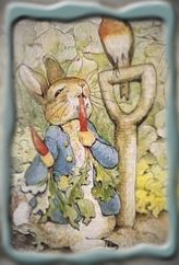 Peter Rabbit eating carrots, Attribution: https://www.google.com/search?rlz=1C1CHFX_enUS375US375&sourceid=chrome&ie=UTF-8&q=images+of+peter+rabbit